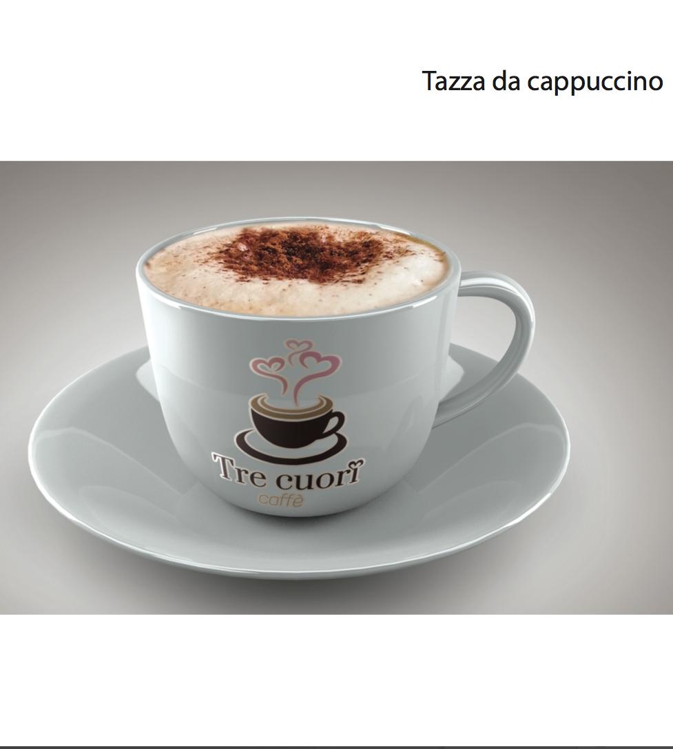 Brand identity Tre cuori caffè